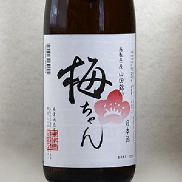 画像1: 果実の酒用日本酒「梅ちゃん」(純米清酒) 1800ml (1)